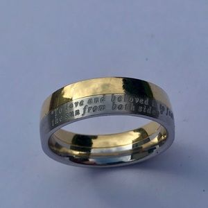 Jewelry - Engraved band